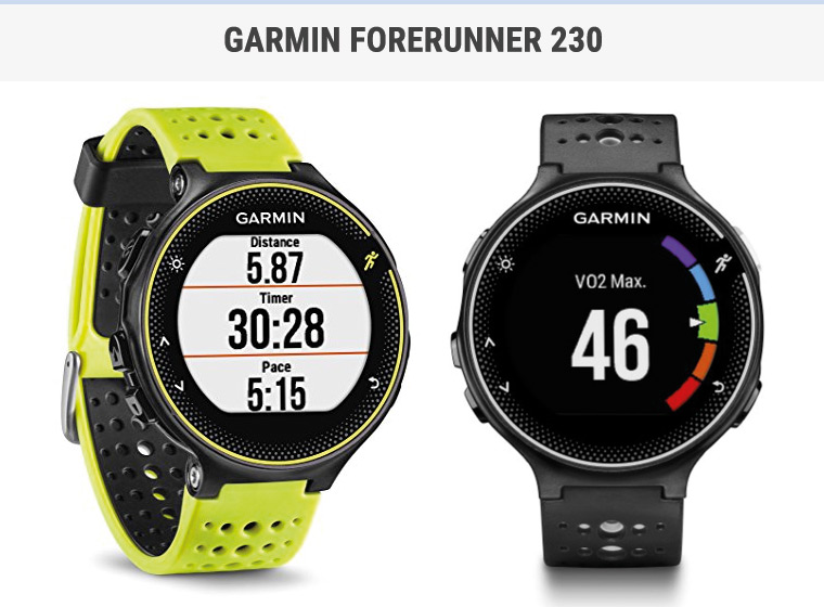 garmin forerunner 230 review