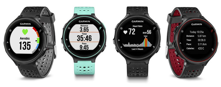 review of the garmin forerunner 235 gps running watch