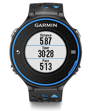 garmin forerunner 620 review - data fields