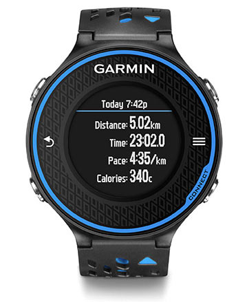garmin forerunner review - run summary