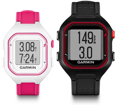 garmin forerunner 25 comparison