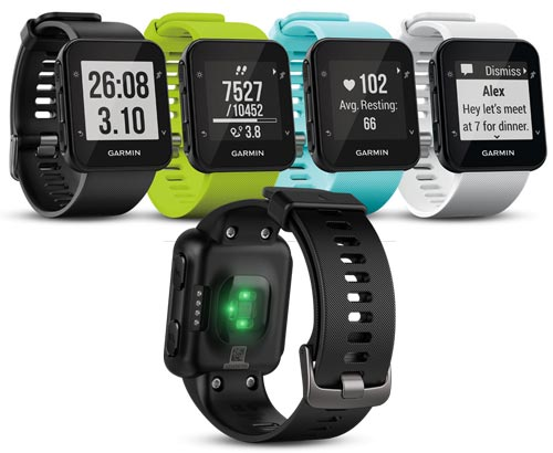 garmin forerunner 35 comparison chart