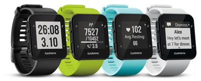 garmin forerunner 35 comparison
