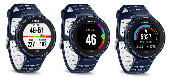 garmin forerunner 630 comparison chart