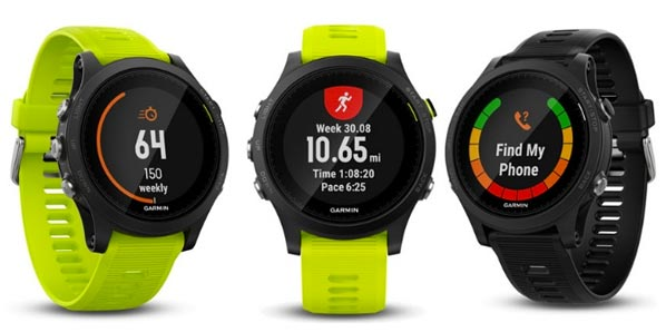 garmin forerunner 935 comparison chart